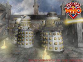 Remembrance of the Daleks by EUAN-THE-ECHIDHOG
