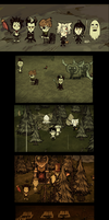 Don't Starve, you, Gray man by galogenida
