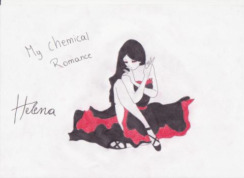 my chemical romance 'helena' by JL98