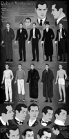 Robert Montgomery Model Sheet by DJCoulz
