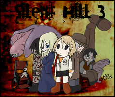 Silent hill 3 by Evilkittah