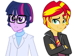 Twilight and Sunset Genderswap by TheCheeseburger