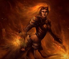 Chandra Cooling Down by AtelierRAN