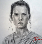 Fanart: Rey (Star Wars) by ehcie-utada