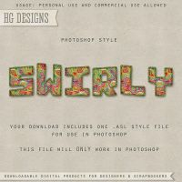 PS Style: Swirly by HGGraphicDesigns