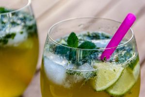 Home-made mojito by phreme
