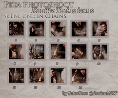 Peta Photoshoot Icons: Sc. 1 by InterRose