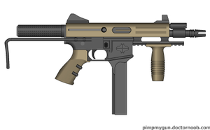Colt PDW Conversion by Robbe25