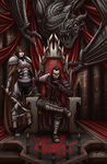 High king of the Dark Fire Legionnaire by LTprojects