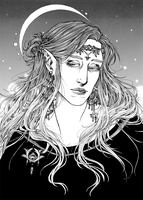 Finrod, King of Nargothrond by April-Lily