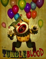 Clown Tumbleblood by ResidenteCorva