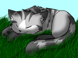 Sleeping Ivypaw by ArcticBlood