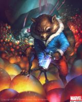 Rocket Raccoon Evo2 by Denstarsk8