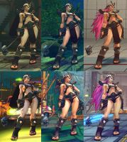 USF4 Mod - Poison Kahn by Segadordelinks