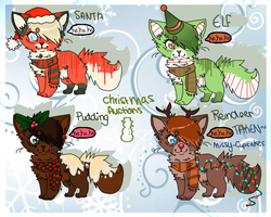 Christmas AUCTIONS 3! -Open by felicities