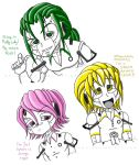 Chibi Humanoid Corrupted Cores by Hasana-chan