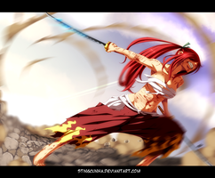 Fairy Tail 404 - Erza by StingCunha