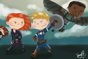 The Winter Soldier by ArcherVale
