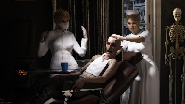 Dentists Of Monsters by Edheldil3D