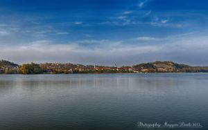 The Danube-River. Hungary.   HDR. by magyarilaszlo