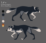 Wolf design by DawnFrost