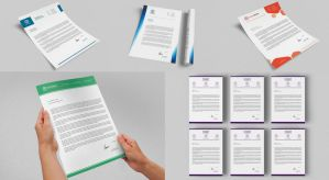 Corporate Letterheads Bundle #4 by nazdrag