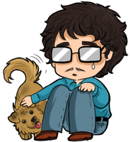 Hannibal - Dogs and sadness by FuriarossaAndMimma