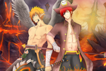 The Archangel and the Pirate by MikkouKun