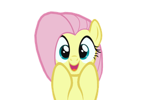 really cute fluttershy by kuren247
