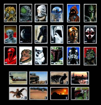 Topps Galaxy 6 Sketch Cards C by AstroVisionary