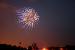 Fireworks IV by dhunley