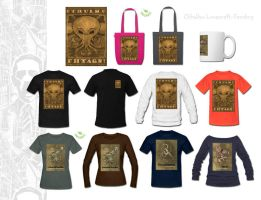Muz CTHULHU-themed products - For Sale by muzski