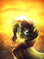 Sunset by LupiArts
