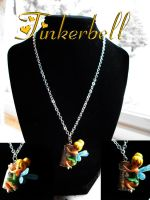 Gift for a Friend- Tinkerbell Pendant by AshiviAlpha
