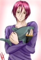 Rin Matsuoka by sayscam12-Mustaine