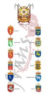 Nordic Union... coat of arms by frans97