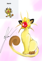 Starth Pokemon fusion by Giggles-the-Panda
