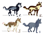 Collab adopts: Wolves CLOSED by xX-SayuriAdopts-Xx