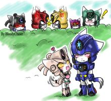 group kitties GGG by BloodyChaser