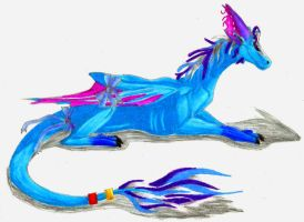 Dragoness Draik for BB Savage by 1Rootbeer
