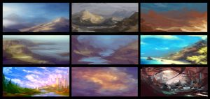 Color Composition Thumbs by Devin-Busha