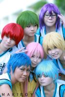 Kiseki no Sedai: After-game snap by azmosis