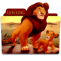 The Lion King Folder Icon by mikromike