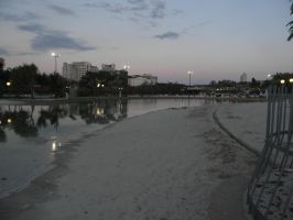 Streets Beach at Dusk by Zomit