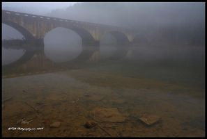 Reflections in the Fog by TRBPhotographyLLC