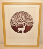 The Stag - original papercut by PaperPandaCuts