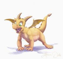 Brown Hatchling by DaffoDille