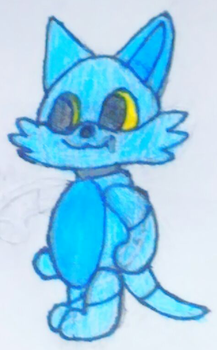 Sterr the Robot Cat (Cartoony) by Derpmaster28