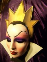 Evil Queen Mask, Snow White, Villains, Nice, HandM by PiratesQuarters