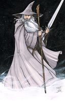 Gandalf the Grey by Hodges-Art